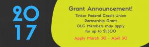 Grant announcement